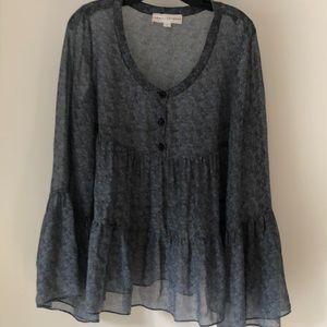 Robert Rodriguez paisley blouse